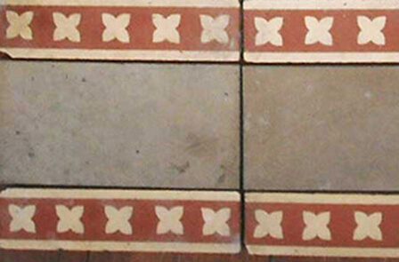 Pattern encaustic tiles
