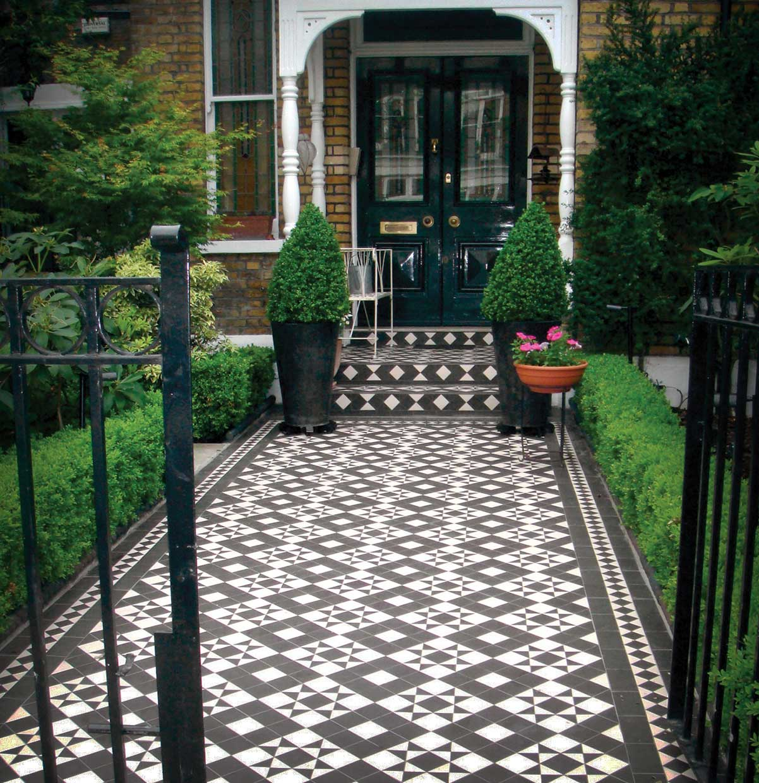 Braemar garden path design london victorian for Garden path designs uk
