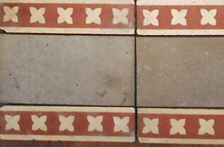 Pattern encaustic tiles