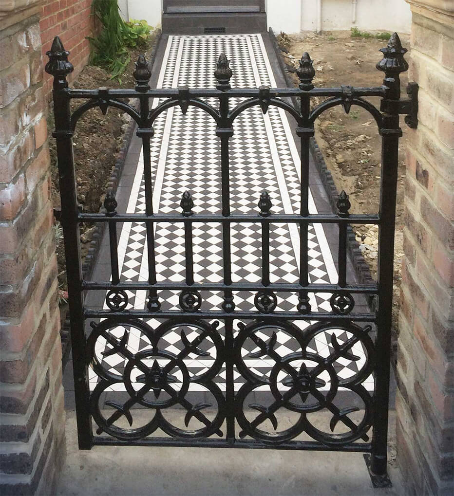 Inspiration for a Victorian gate