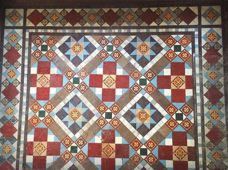 Ideas for Victorian floor tiles