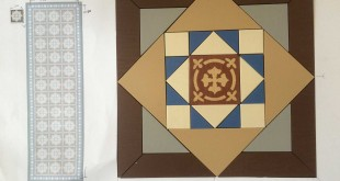 geomewtric tile design