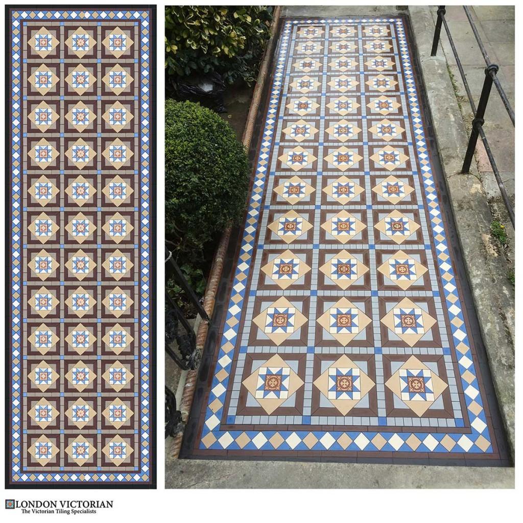 victorian-tiled-path-design-encaustic-south-east-london